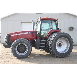 CIH MX240 4wd tractor, cab, air, 520 85R46 axle duals, 5418 hrs