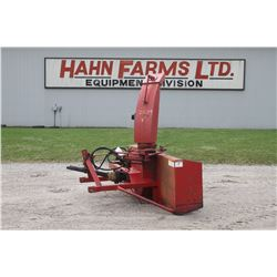 Agro Trend FU-96S 8' single auger snowblower, red