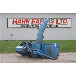 "Lucknow D8.5H 8'6"", double auger snowblower, hydraulic turn"