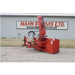 "Agro Trend FU-96S 96"" single auger snowblower, hydraulic turn with cylinder"