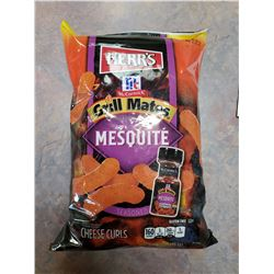 TWELVE BAGS OF HERR'S MESQUITE SEASONED CHEESE CURLS