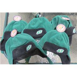 LOT OF 5 SASKATCHEWAN ROUGHRIDERS TODDLER HATS