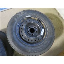 2 TIRES AND RIMS (205/65/15) *HANKOOK PIKE RS*