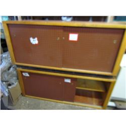 2 WORKSHOP CABINETS (3/4 INCH PLYWOOD)