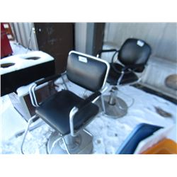 2 BARBER CHAIRS