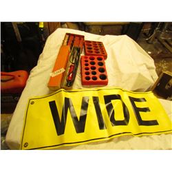 O RINGS, WIDE LOAD SIGN, SOLDERING IRON