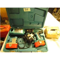 MAKITA 18V CORD LESS DRILL SET