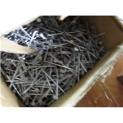 BOX OF 3 INCH NAILS (50 POUNDS)