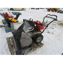SNOWBLOWER WITH CANOPY (CRAFTSMAN-8 HP) *28 INCH CUT*