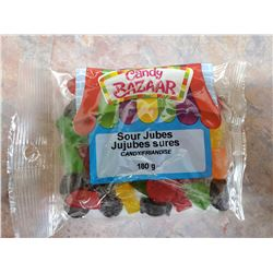 CASE OF SOUR JUBES (21 BAGS)