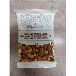 EIGHT BAGS OF PRALINE MIXED NUTS