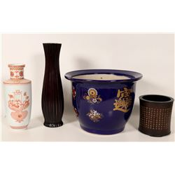 Chinese Decorative Containers (4)  #105995