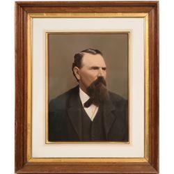 Governor Milton Latham Portrait  #108517