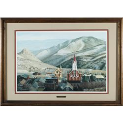 Virginia City Framed Print by Moore  #87653