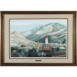 Virginia City Framed Print by Moore  #87653