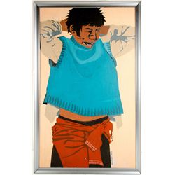 William Forrest Martin Painting of Navajo Boy  #77800