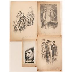 Four Western Illustrations  #110423