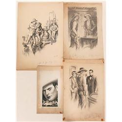 Four Western Illustrations  #110423