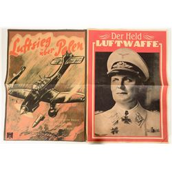 German WWII Air Force Propaganda Posters - Repro #109836