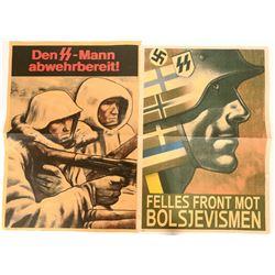 German Propaganda Posters (2), Anti-Bolshevism - Repro #110627
