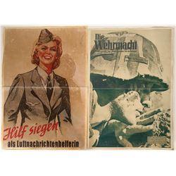 German Propaganda Posters (4) - Repro  #109834