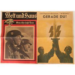 German Propaganda Posters (4), c1939-40 - Repro  #110628