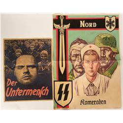 German WW2 Propaganda Posters (2) - Repro #109835