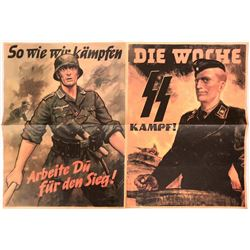German WWII Infantry Posters (4) - Repro #110299