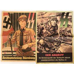 German WWII Propaganda Posters 1939-40 (2) - Repro #110750