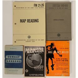 Military Booklets / WWII / 5 Items.  #109725