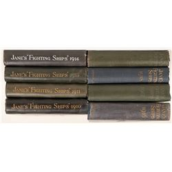 Fighting Ships by Fred T. Janes, 72 volumes, 1898-2002  #110879