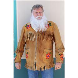 Beaded, Fringed Leather Jacket (Paiute?)  #108007