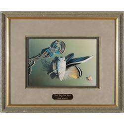 Framed Great Basin Side Notch Print by Hummel  #87642