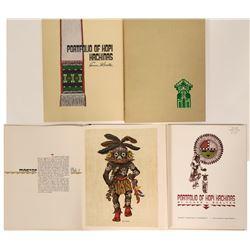 Portfolio of Hopi Kachinas  #110892