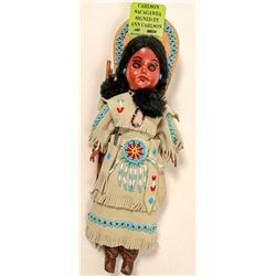 Indian Doll & Apache Donur, signed by Artists  #102737