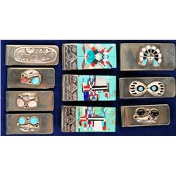 Native American/  Money Clips / 10 Items.  #109742