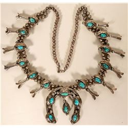 Early Squash Blossom Necklace  #109774