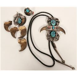 Navajo Bear Claw Jewelry  #109759