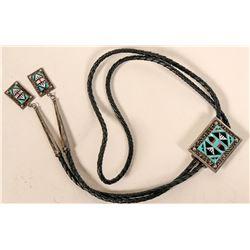 Turquoise Bolo Tie  #109106