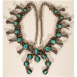 Vintage Squash Blossom Necklace  #109775