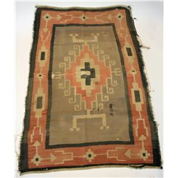 Navajo rug medium size wind pattern  #109099