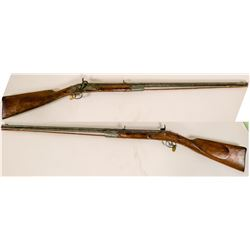 Half-stock Kentucky Rifle unknown maker  #109095