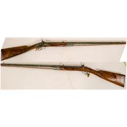 Half-stock Kentucky Rifle unknown maker  #109095