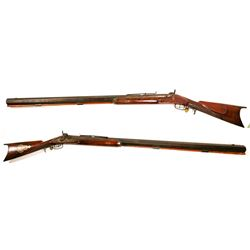 J.H. Johnston Civil War era target/sniper rifle  #109091