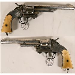 Merwin & Hulbert First model revolver in .44-40 cal.  #109883