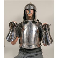 Breastplate, Mail Chains, Helmet, and Wrist Cuffs Replicas  #105459