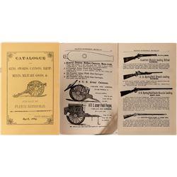 Francis Bannerman Guns, Swords, Cannons, Equipments, Military Goods Catalogue  #110688