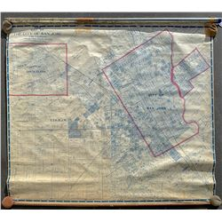 1905 Map of the City of San Jose and Vicinity, Plat Map  #109468
