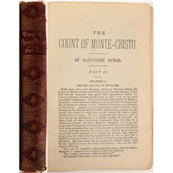 "Rare Book  / "" The Count Of Monte Cristo "" , Part II  #105412"