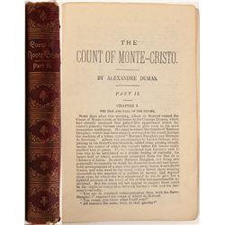 """Rare Book  / """" The Count Of Monte Cristo """" , Part II  #105412"""